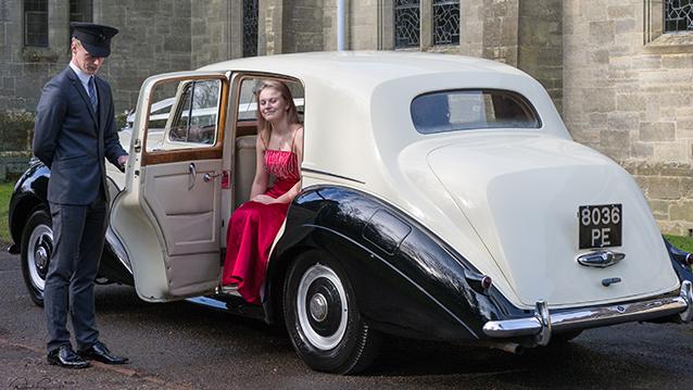 Bentley 'R' Type wedding car for hire in East Grinstead, West Sussex