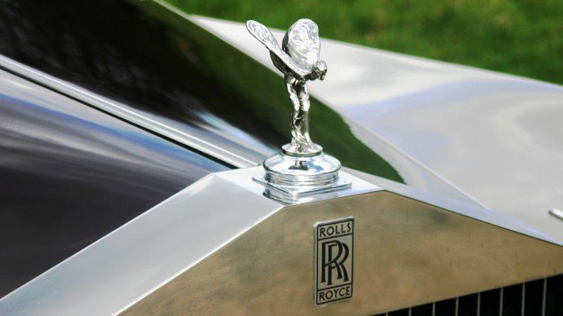 Rolls-Royce Phantom V wedding car for hire in Richmond, West London
