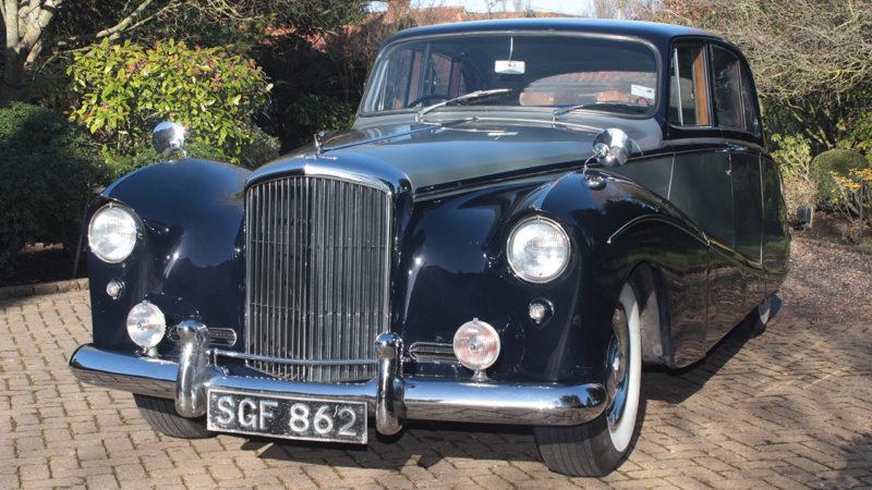 Bentley S1 Hooper Empress wedding car for hire in Cobham, West London