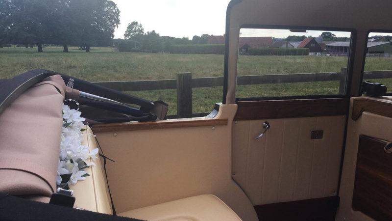 Regent Landaulette wedding car for hire in Chippenham, Wiltshire