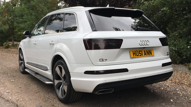 Audi Q7 S Line wedding car for hire in Enfield, Hertfordshire