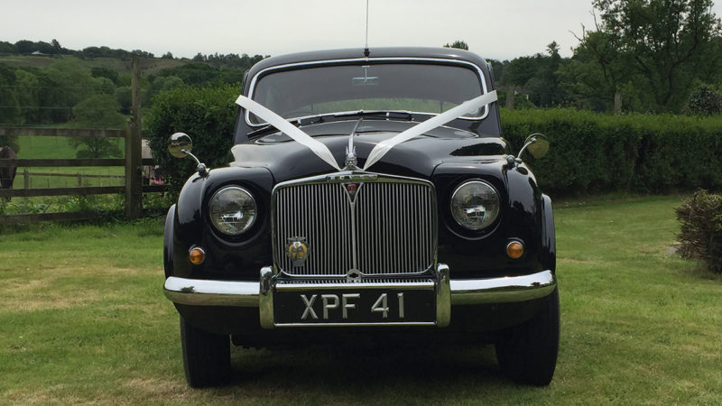 Rover 90 Saloon wedding car for hire in Ringwood, Hampshire