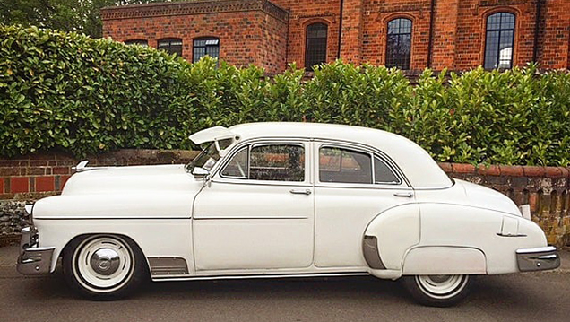 Chevrolet Styline Deluxe wedding car for hire in Cobham, West London