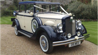 Regent Landaulette wedding car for hire in Hemel Hempstead, Hertfordshire