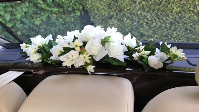 Bentley Mulsanne wedding car for hire in Ferndown, Dorset
