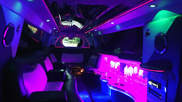 Range Rover Vogue Stretched Limousine wedding car for hire in Ware, Hertfordshire