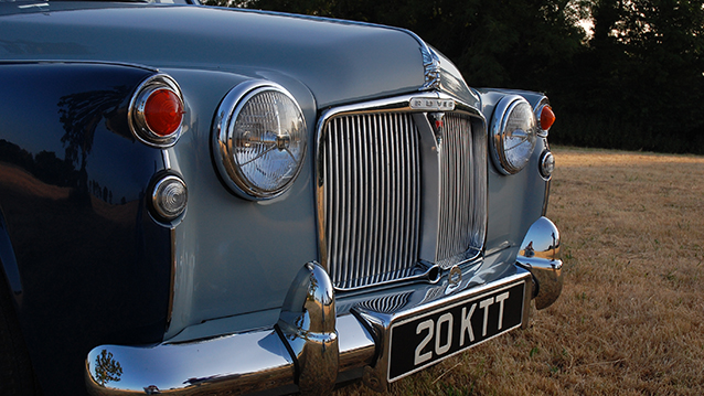 Rover 100 Saloon wedding car for hire in Midhurst, West Sussex