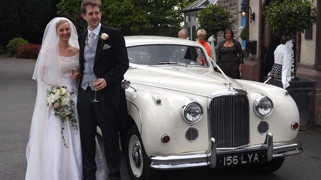 Jaguar MK IX wedding car for hire in Midhurst, West Sussex