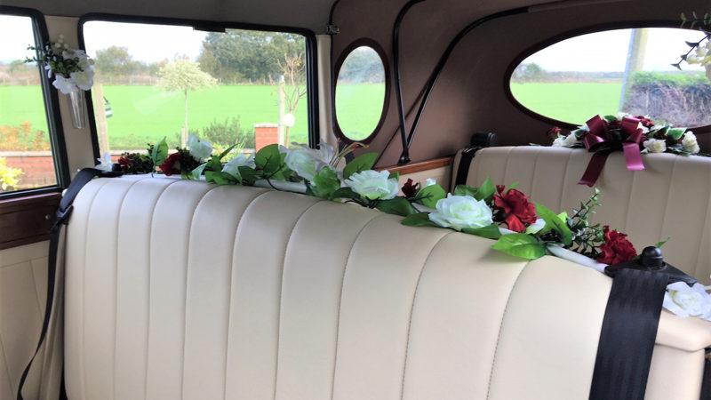 Regent Landaulette wedding car for hire in Warrington, Cheshire