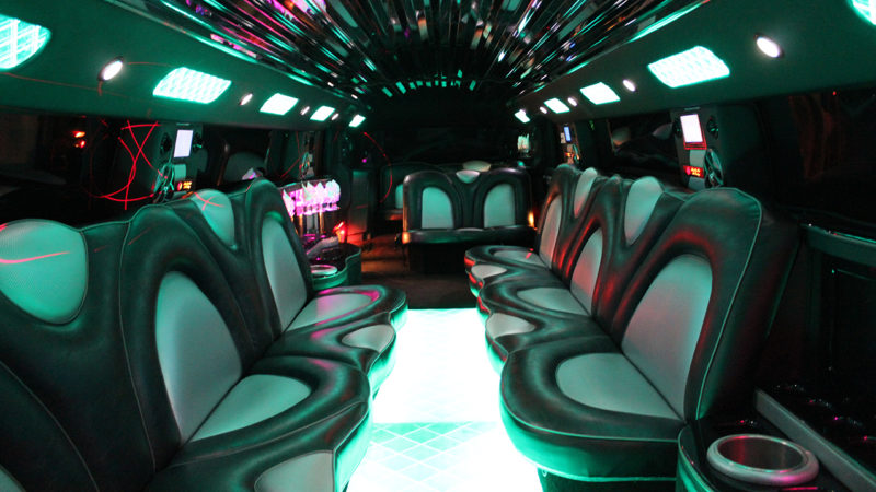 Hummer H2 Limousine wedding car for hire in Bradford, West Yorkshire