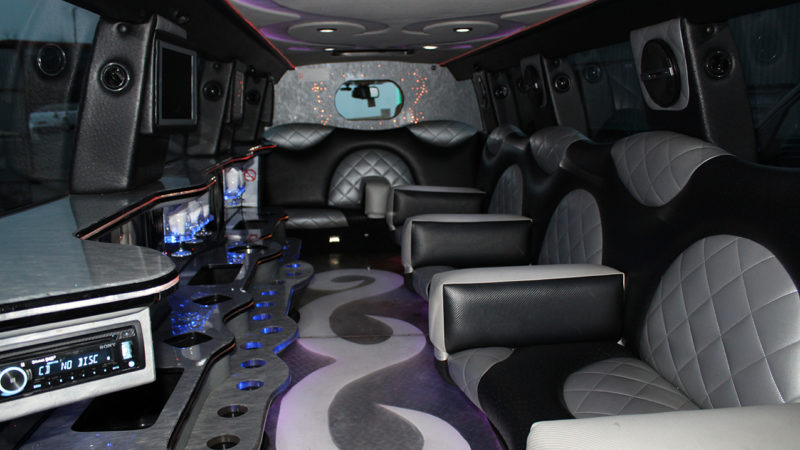 Range Rover Sport Stretched Limousine wedding car for hire in Bradford, West Yorkshire