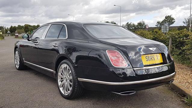 Modern Bentley Mulsanne Wedding Car Hire In Peterborough