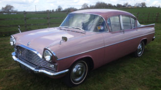 Vauxhall Cresta wedding car for hire in Leicester, Leicestershire