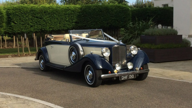 Classic Royal Jaguar Drophead Available To Book For