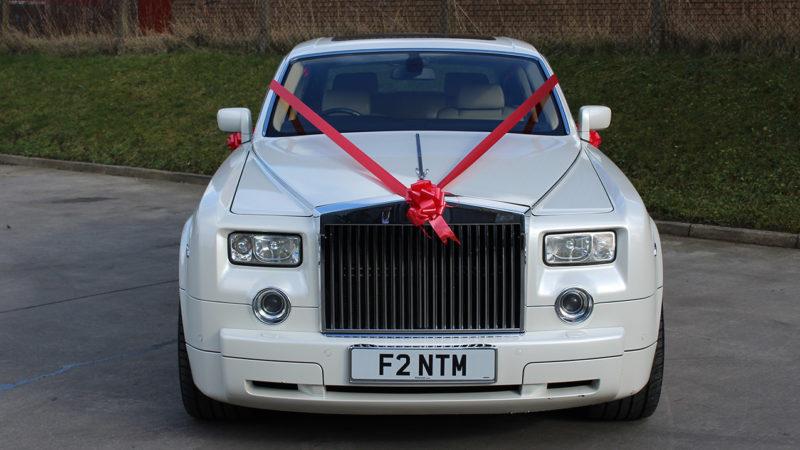 Rolls-Royce Phantom wedding car for hire in Bradford, West Yorkshire