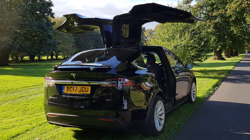black tesla model 39 x 39 available to hire for weddings in cardiff newport south wales. Black Bedroom Furniture Sets. Home Design Ideas