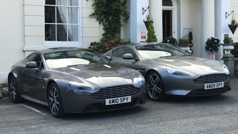 Aston Martin Wedding Car Hire Devon