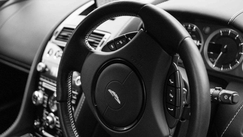 Aston Martin Vantage S wedding car for hire in Bristol, Somerset