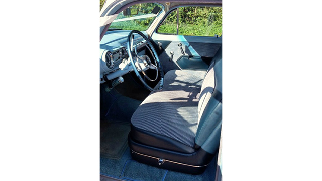 Chevrolet Bel Air Sedan wedding car for hire in Ipswich, Suffolk