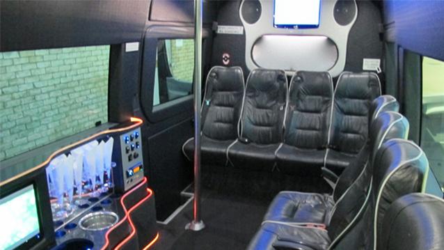 Mercedes Sprinter Bus wedding car for hire in Milton Keynes, Buckinghamshire