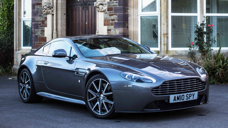 Aston Martin Vantage S wedding car for hire in Bristol, Somerset