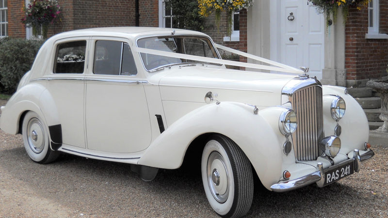 Bentley 'R' Type wedding car for hire in London