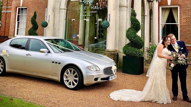 Maserati Quattroporte wedding car for hire in Basingstoke, Hampshire