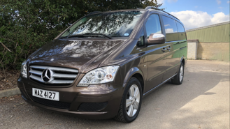Mercedes Viano wedding car for hire in Enfield, Hertfordshire