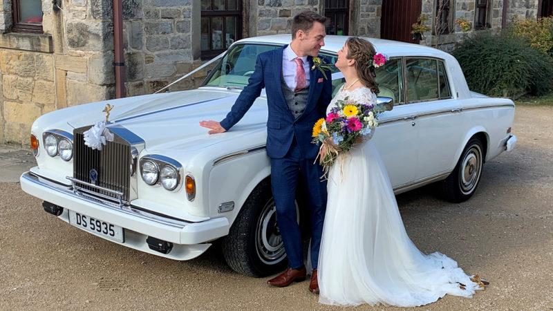 Rolls-Royce Silver Shadow II wedding car for hire in Dewsbury, West Yorkshire