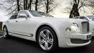 Bentley Mulsanne wedding car for hire in Bradford, West Yorkshire