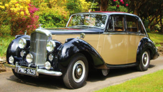 Bentley 'R' Type wedding car for hire in Battle, East Sussex