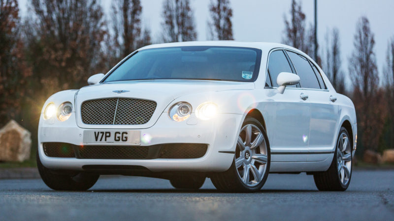 Bentley Continental Flying Spur wedding car for hire in Wolverhampton, West Midlands