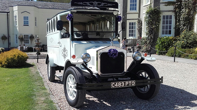 Vintage Style Wedding Bus Available To Book For