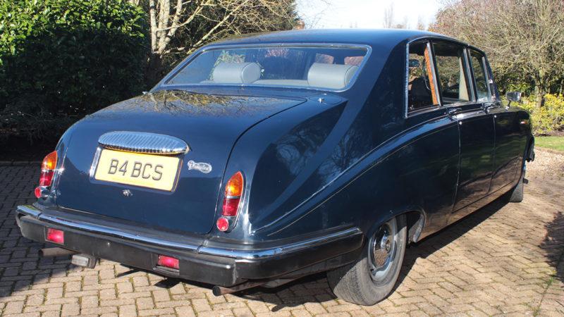 Daimler DS420 Limousine wedding car for hire in Cobham, West London