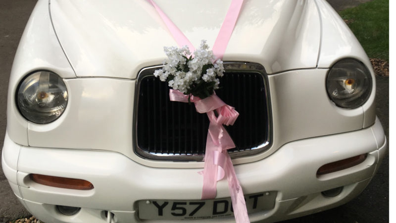 Taxi Cab wedding car for hire in Whitstable, Kent