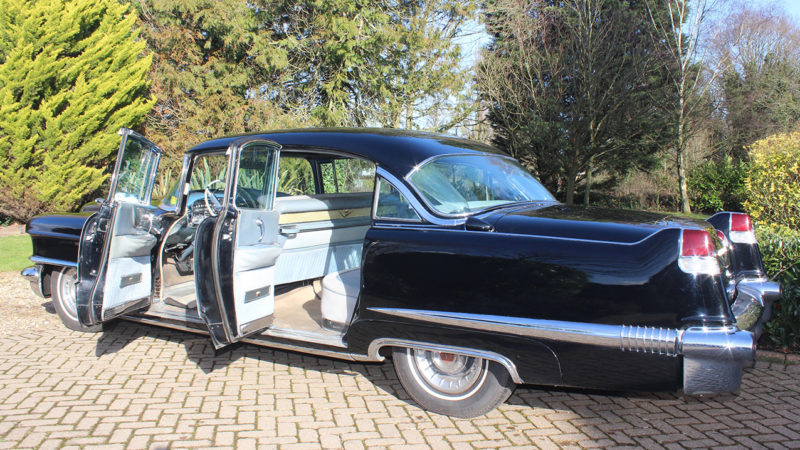 Cadillac Fleetwood 60 Special wedding car for hire in Cobham, West London