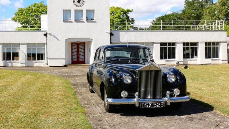 Rolls-Royce Silver Cloud I wedding car for hire in Farnham, Surrey