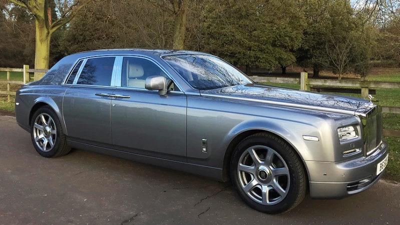 Rolls-Royce Phantom Series II wedding car for hire in West London