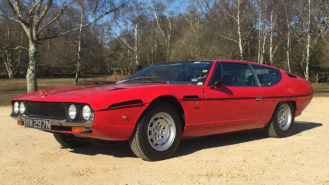 Lamborghini Espada V12 wedding car for hire in Cadnam, Hampshire