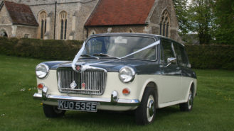 MG 1300 MK II Estate wedding car for hire in Royston, Hertfordshire
