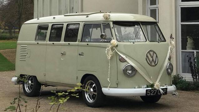 Van Hire Chelmsford >> Classic Cream VW Campervan Wedding Hire in Essex and Suffolk