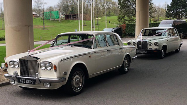Rolls-Royce Silver Shadow I wedding car for hire in Newport, South Wales