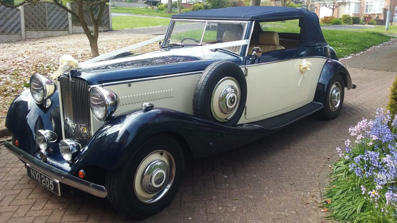 Royale Drophead Convertible wedding car for hire in Burton-on-Trent, Staffordshire