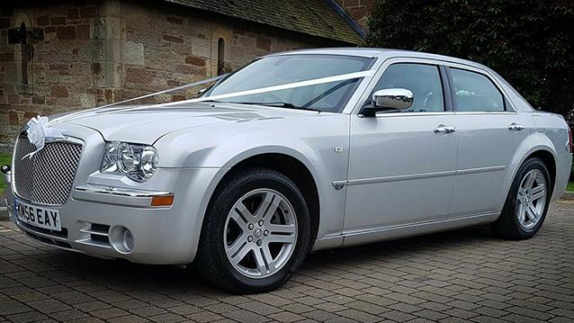 Chrysler 300c wedding car for hire in Ayr, Ayrshire
