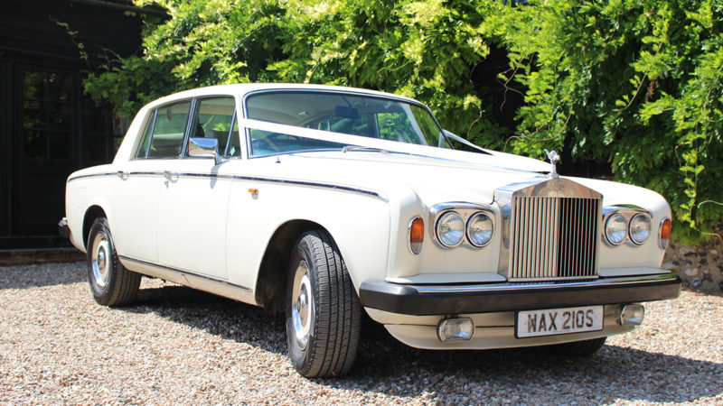 Rolls-Royce Silver Shadow II wedding car for hire in High Wycombe, Buckinghamshire