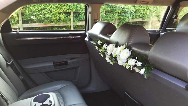Stretched Chrysler Limousine Available To Hire For
