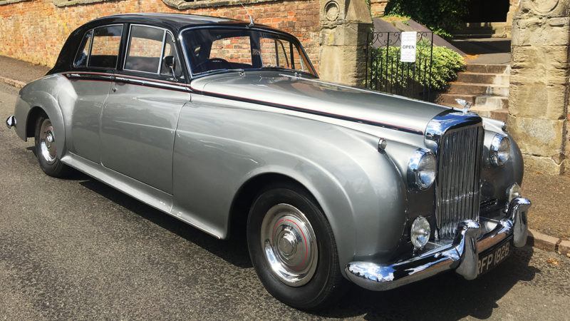 Bentley S1 wedding car for hire in Rugby, Warwickshire