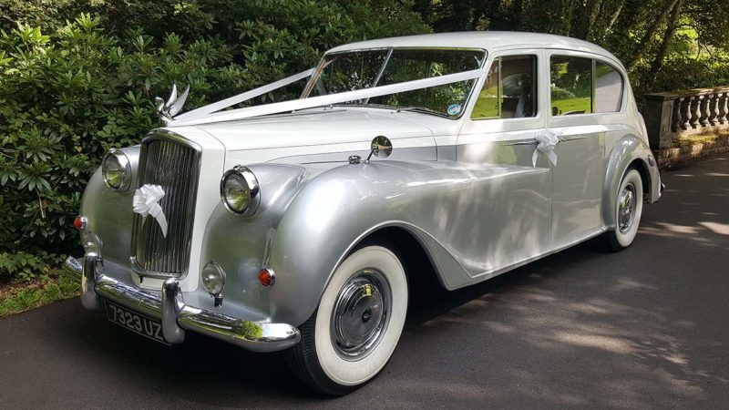 Austin Princess Vanden Plas Limousine wedding car for hire in Christchurch, Dorset