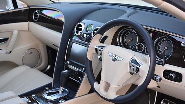 Bentley Flying Spur wedding car for hire in London