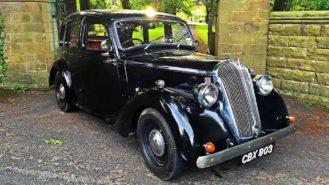 Standard Flying 12 wedding car for hire in Winslow, Buckinghamshire